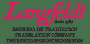 Langfeldt translations – Traducciones Langfeldt Logo