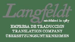 Langfeldt-Translations - Logo BW